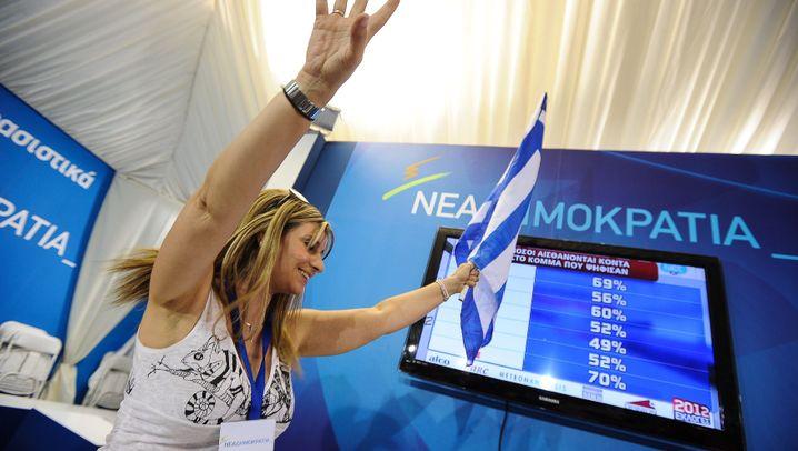 Athen: Schicksalswahl in Griechenland