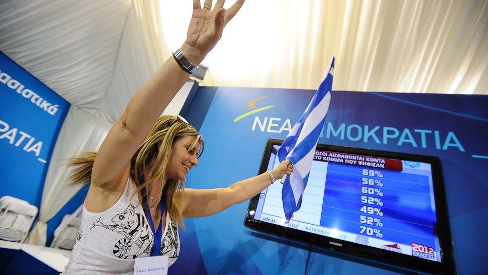 Parlamentswahl in Griechenland: Konservative erklären sich zum Wahlsieger