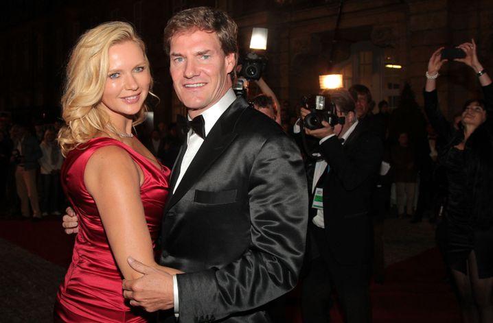 Mit seiner jetzigen Ehefrau Veronica Ferres 2011 in Bayreuth