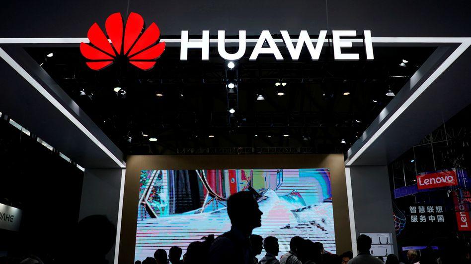 Huawei-Messestand