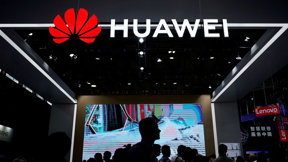 Huawei-Messestand