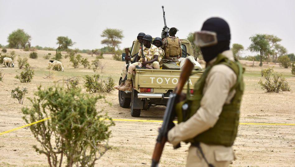 Soldaten im Niger
