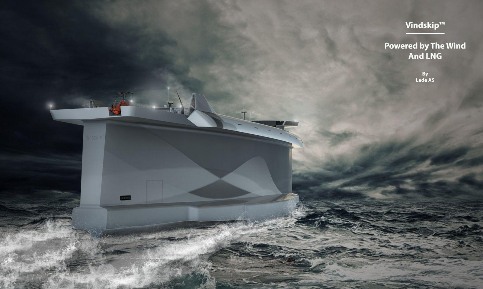 Vindskip/ Windschiff
