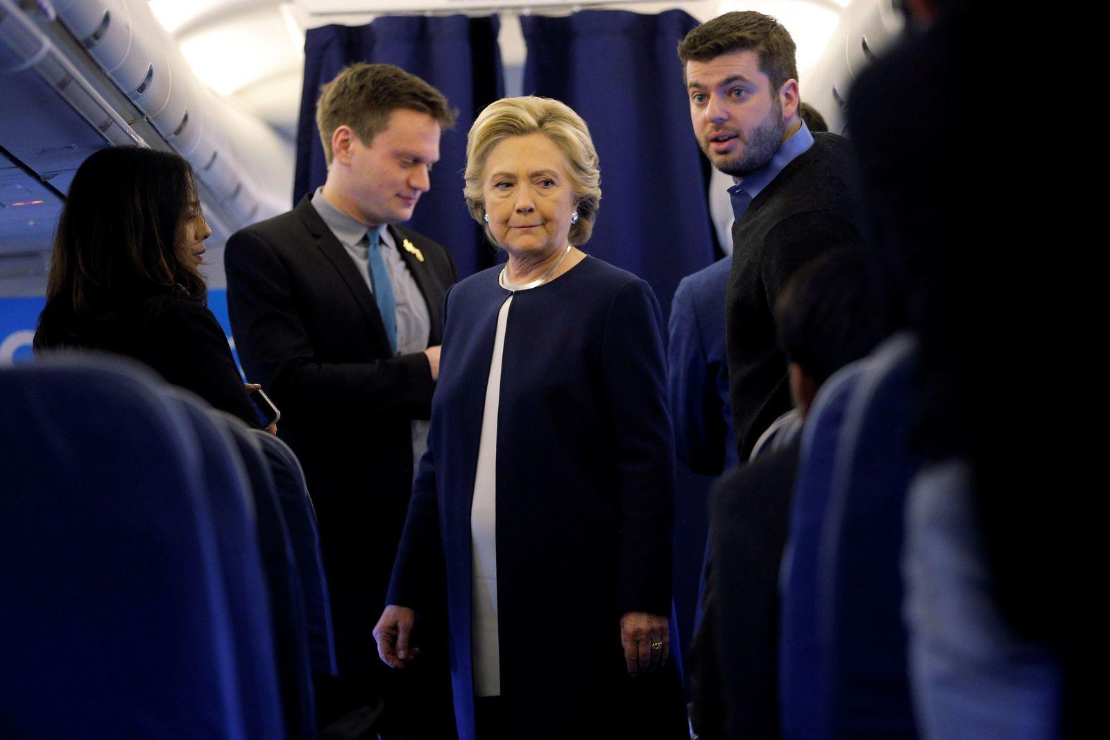 Clinton / Wahlkampf