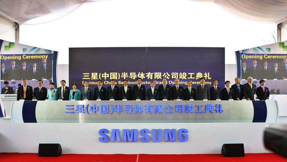 Halbleiterwerk von Samsung in der chinesischen Shaanxi-Provinz