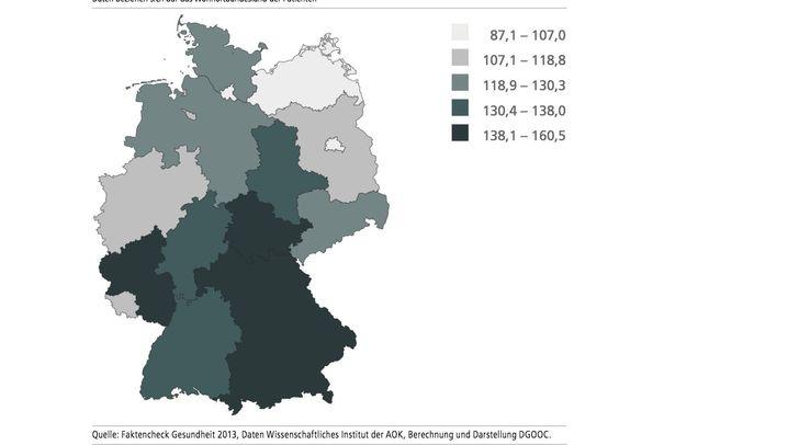 Faktencheck Gesundheit: Regionale Unterschiede bei Knieoperationen