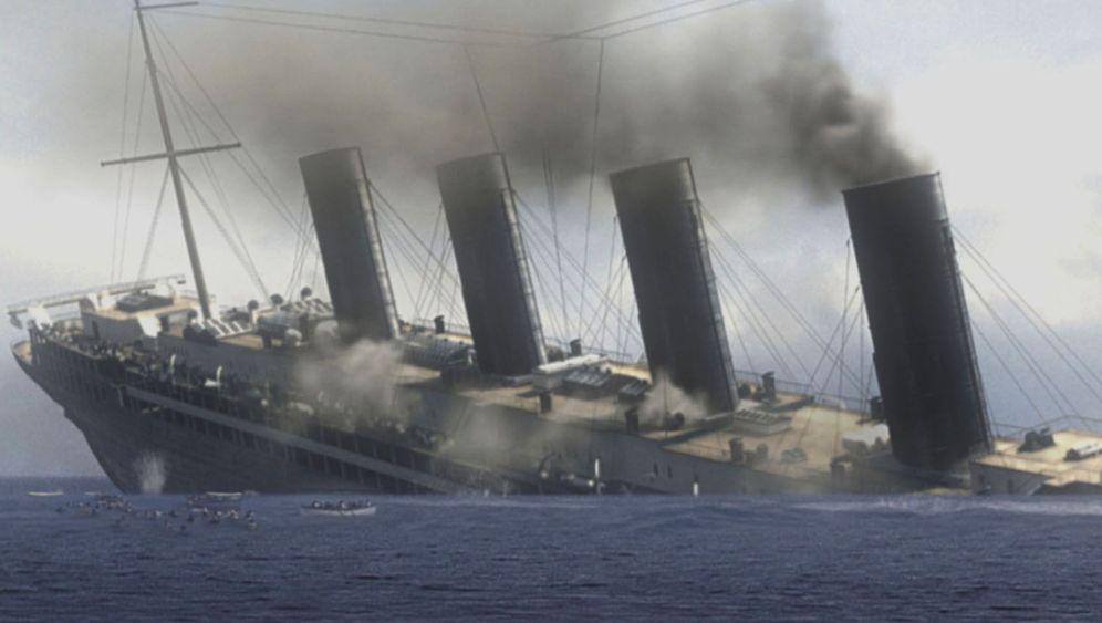 """Der Untergang der """"Lusitania"""": Angriff auf einen Mythos"""