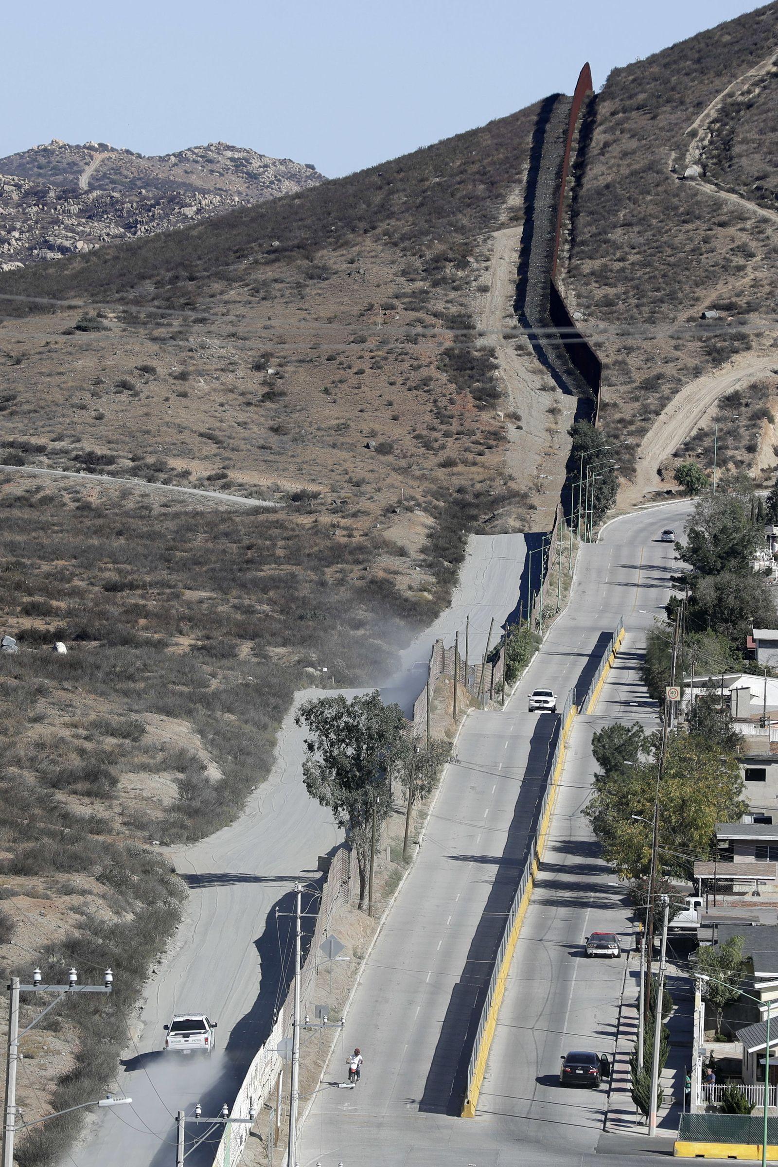 Mexiko grenze trump