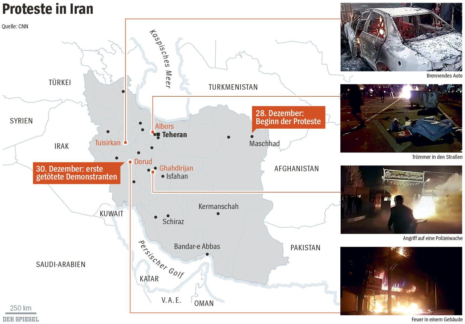 EINMALIGE VERWENDUNG SPIEGEL Plus SPIEGEL 2/2018 S.80 Iran