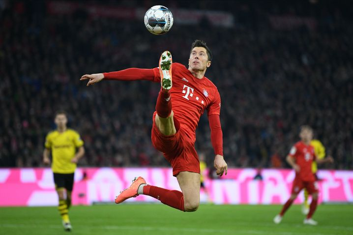 Virtuos am Ball und vor dem Tor: Robert Lewandowski