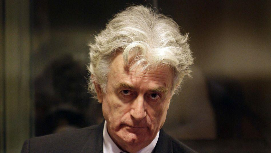 Mutmaßlicher Kriegsverbrecher Karadzic (Augist 2008): Reines Gewissen