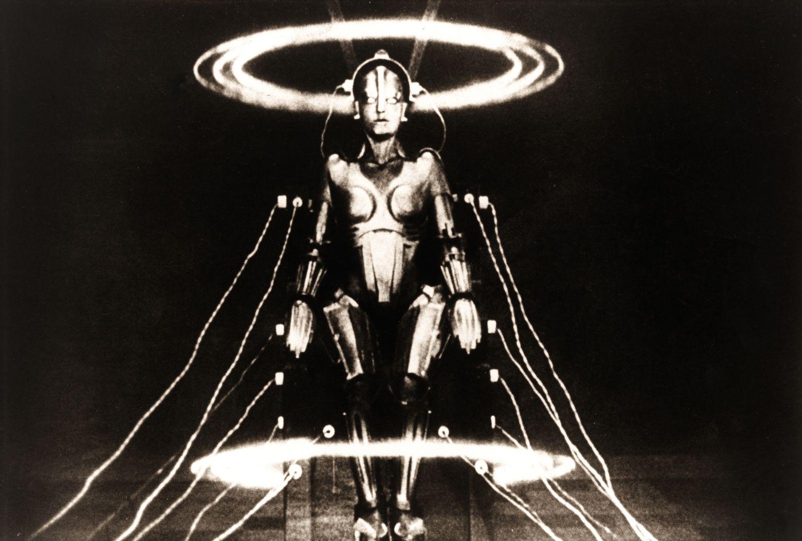 "Film scene of ""Metropolis"" directed by Fritz Lang. In 1927."