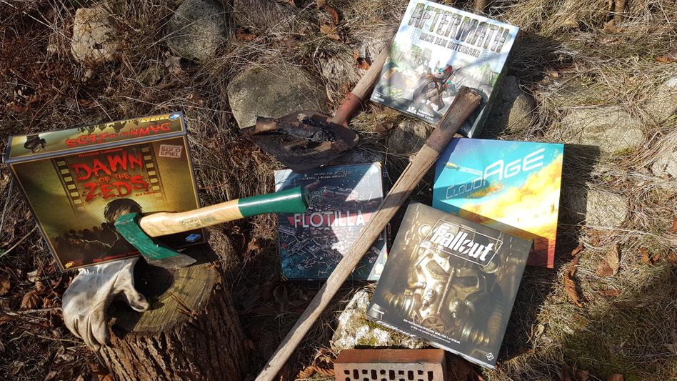 Fünfmal Postapokalypse: »Fallout«, »Aftermath«, »Cloud Age«, »Dawn of the Zeds« und »Flottila«