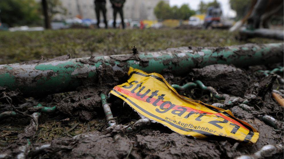 """""""Stuttgart 21"""": Proteste gegen Polizeigewalt"""