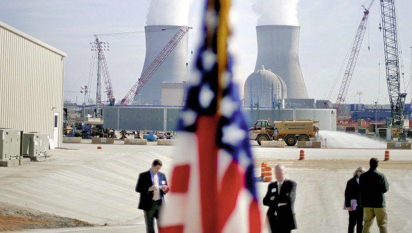 Reaktorbaustelle im Vogtle-Atomkraftwerk in den USA: »Nuklearer Sozialismus«