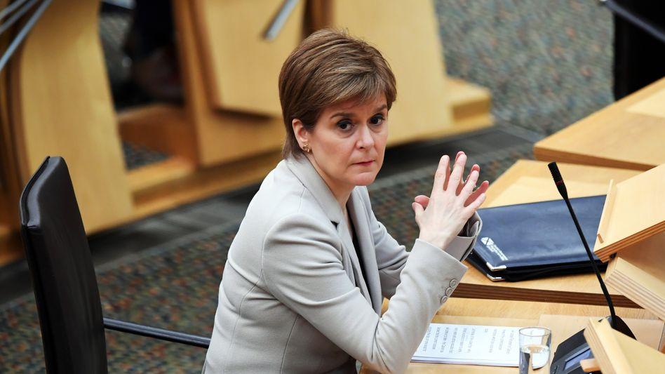 Schottische Regierungschefin Sturgeon: Vereinigtes Königreich bleibt wichtigster Handelspartner