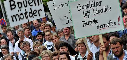 Bauern-Demo am Mittwoch in München: Interner Streit im Verband