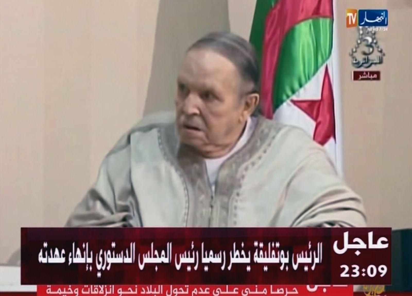 Rücktritt von Algeriens Präsident Bouteflika