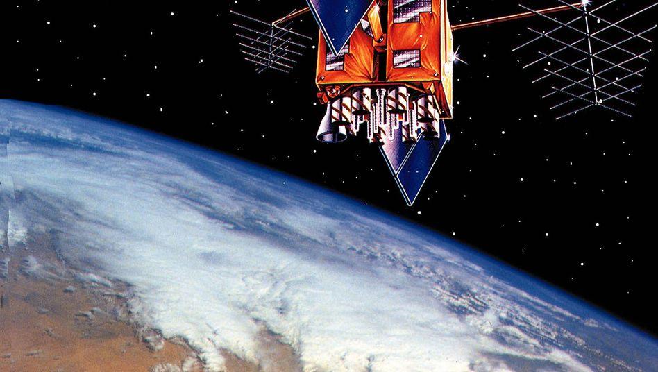 Satellit (Symbolgrafik)