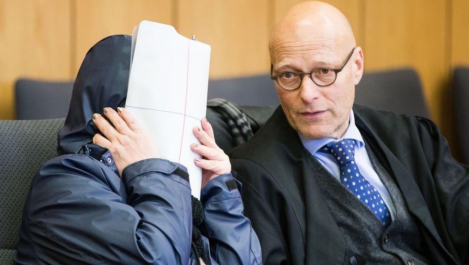 Angeklagte Liana D. im Landgericht Bochum (Archiv)