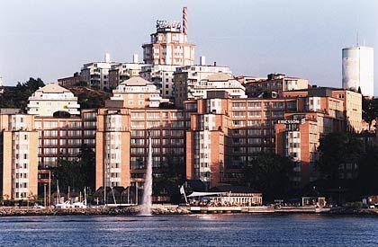Ericsson-Konzernsitz, Stockholm: Trouble in der Schweiz