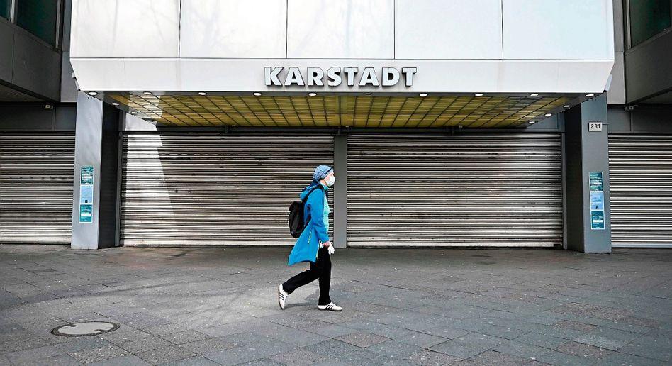 Geschlossene Karstadt-Filiale