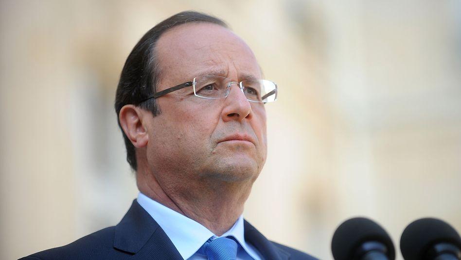 """Frankreichs Präsident Hollande: """"Massaker von Damaskus darf nicht ungestraft bleiben"""""""