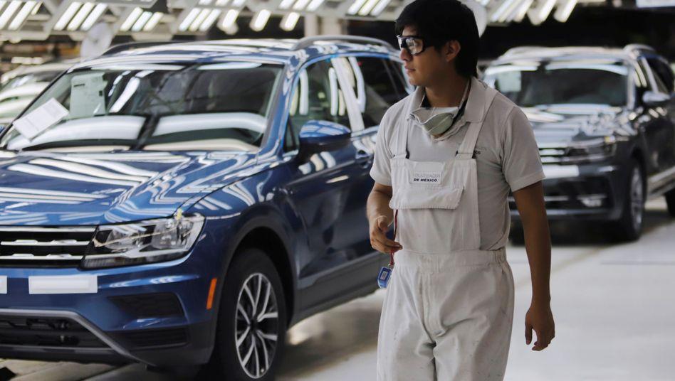 Volkswagen-Werk in Mexico: