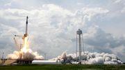 Die SpaceX dockt an