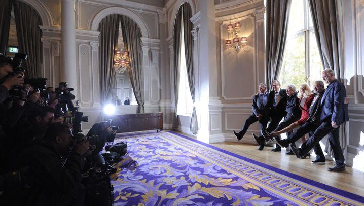 """Monty-Python-Pressekonferenz: """"So lustig wie möglich"""""""