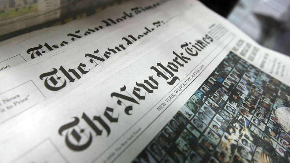 """Auch Mitarbeiter der """"New York Times"""" werden von China ausgewiesen"""