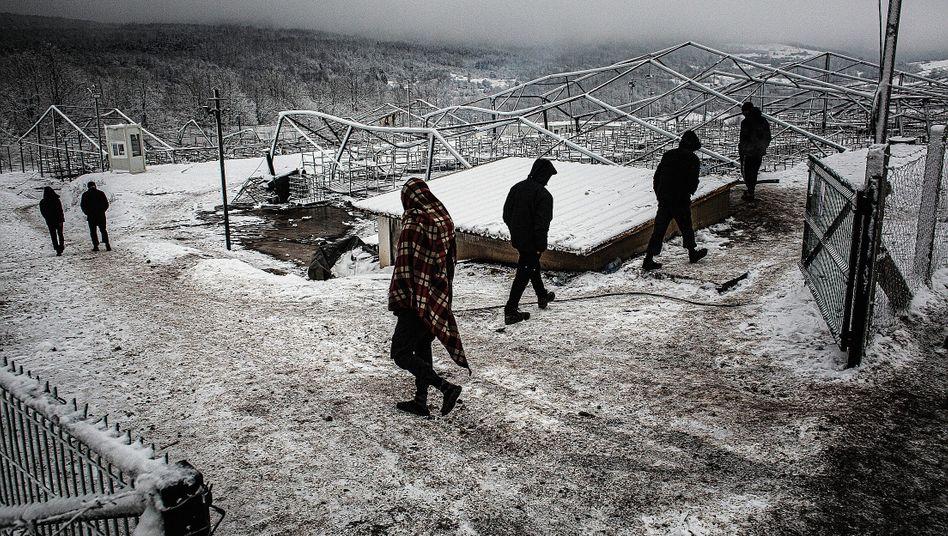 Bewohner im abgebrannten Lager Lipa: »Absolut vermeidbare Tragödie«