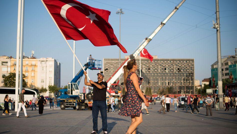 Taksim-Platz in Istanbul