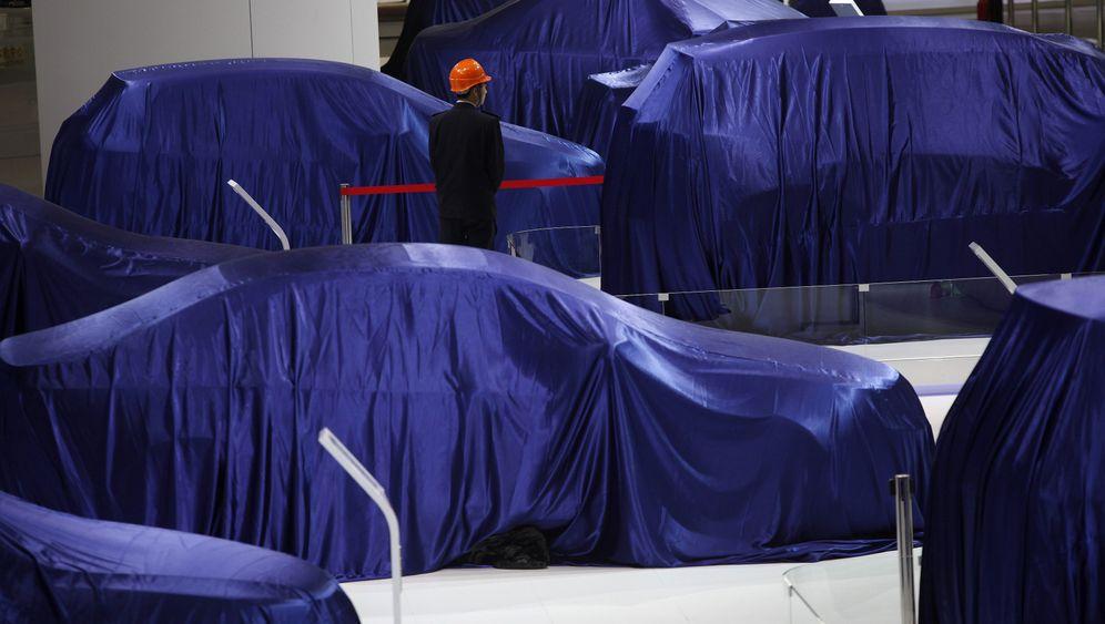 Automesse in Shanghai 2013: Premiummarkt für deutsche Hersteller