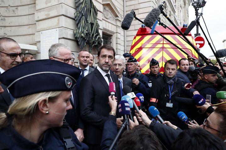 Innenminister Christophe Castaner: Oppositionspolitiker forderten am Samstag seinen Rücktritt.