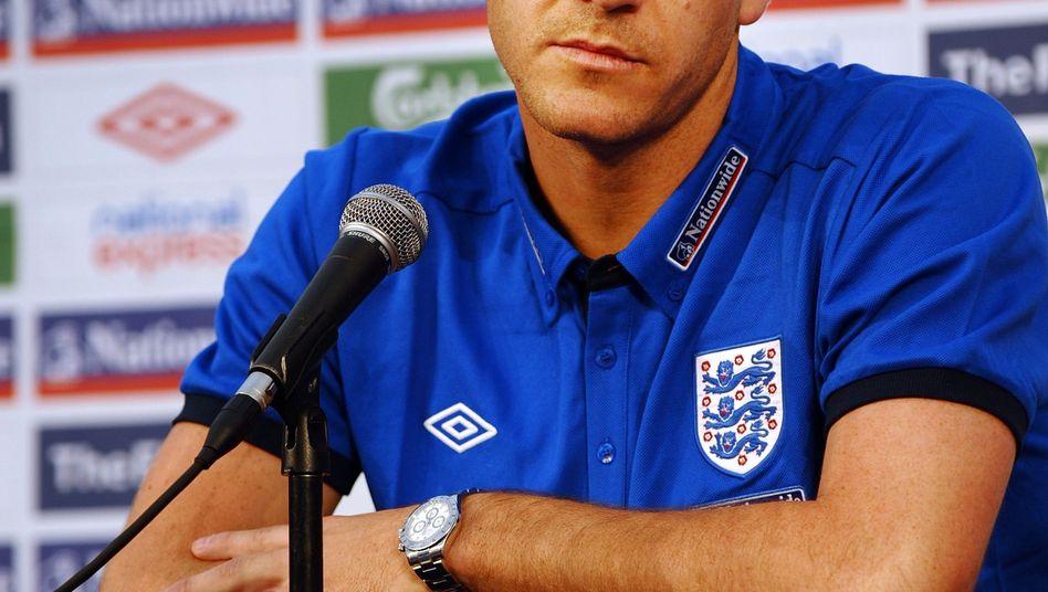 England-Verteidiger Terry: Unterstützung für den Trainer