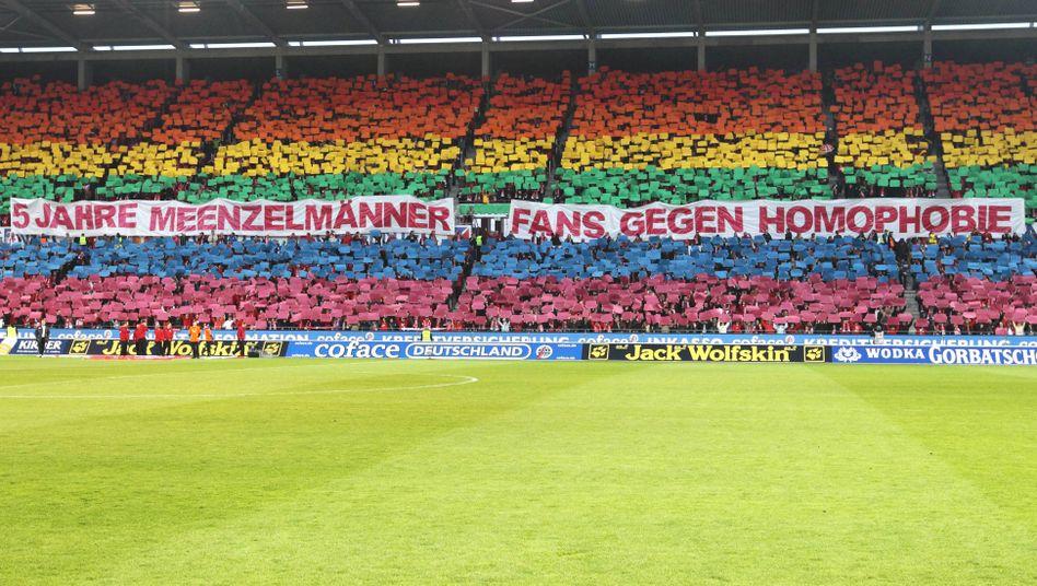 Fans von Mainz 05 (2012): Nur noch wenig Homophobie auf den Rängen