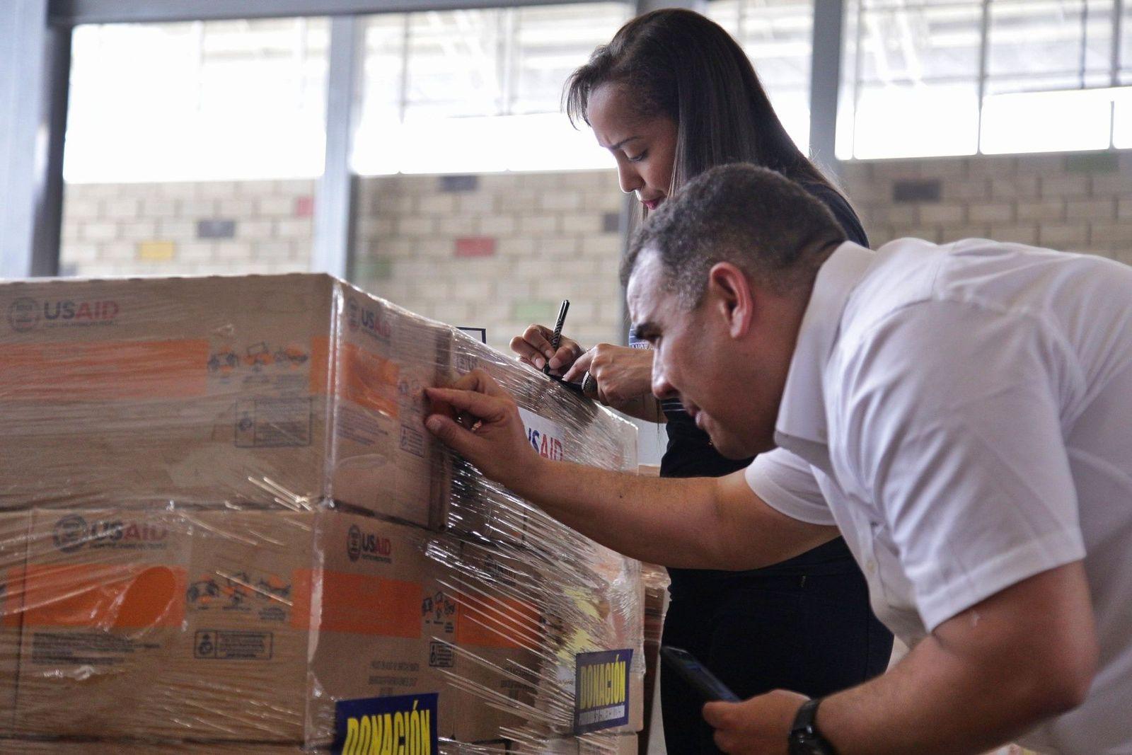 Venezuela Hilfsgüter