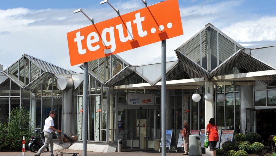 Supermarkt von Tegut: Zur Kette gehören mehr als 280 Märkte