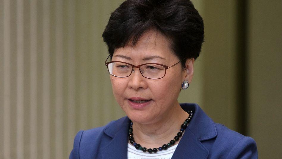 Hongkongs Gouverneurin Carrie Lam
