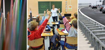 Netzkabel, Schulen, Straßen: Milliarden für Deutschlands Modernisierung