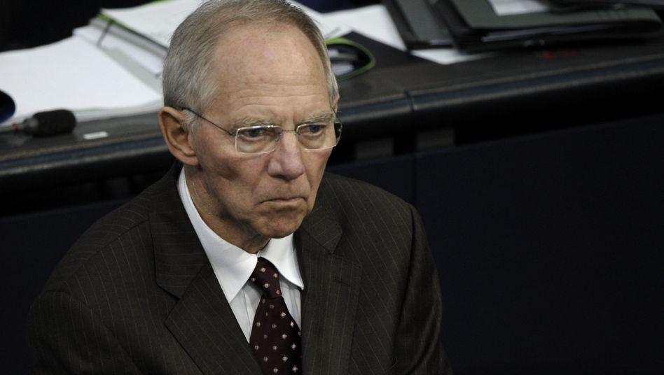 Wolfgang Schäuble: Der Finanzminister verwaltet, gestaltet aber nicht