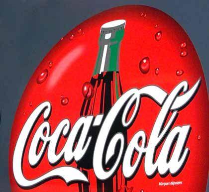 Coca-Cola-Reklame: In Indien derzeit nicht gern gesehen