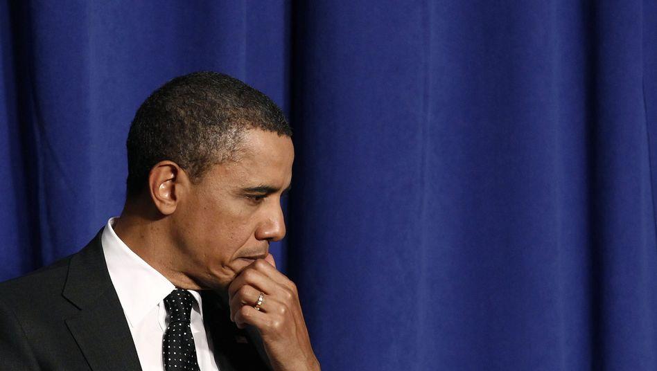 US-Präsident Obama: Massiver Gegenwind aus dem Kongress