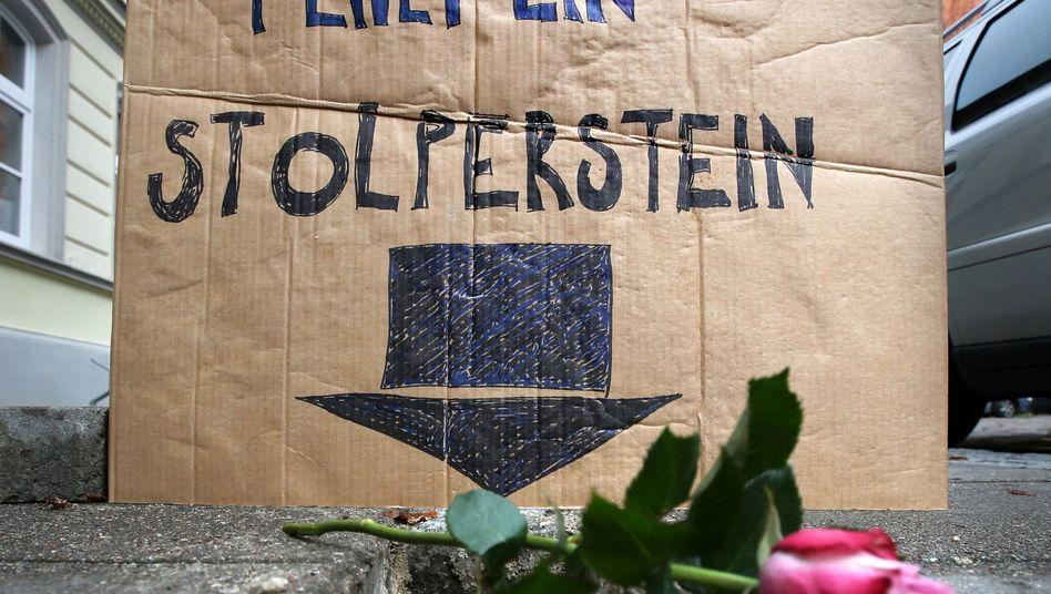 """""""Hier fehlt ein Stolperstein"""": In Greifswald wurden elf Gedenksteine entwendet"""