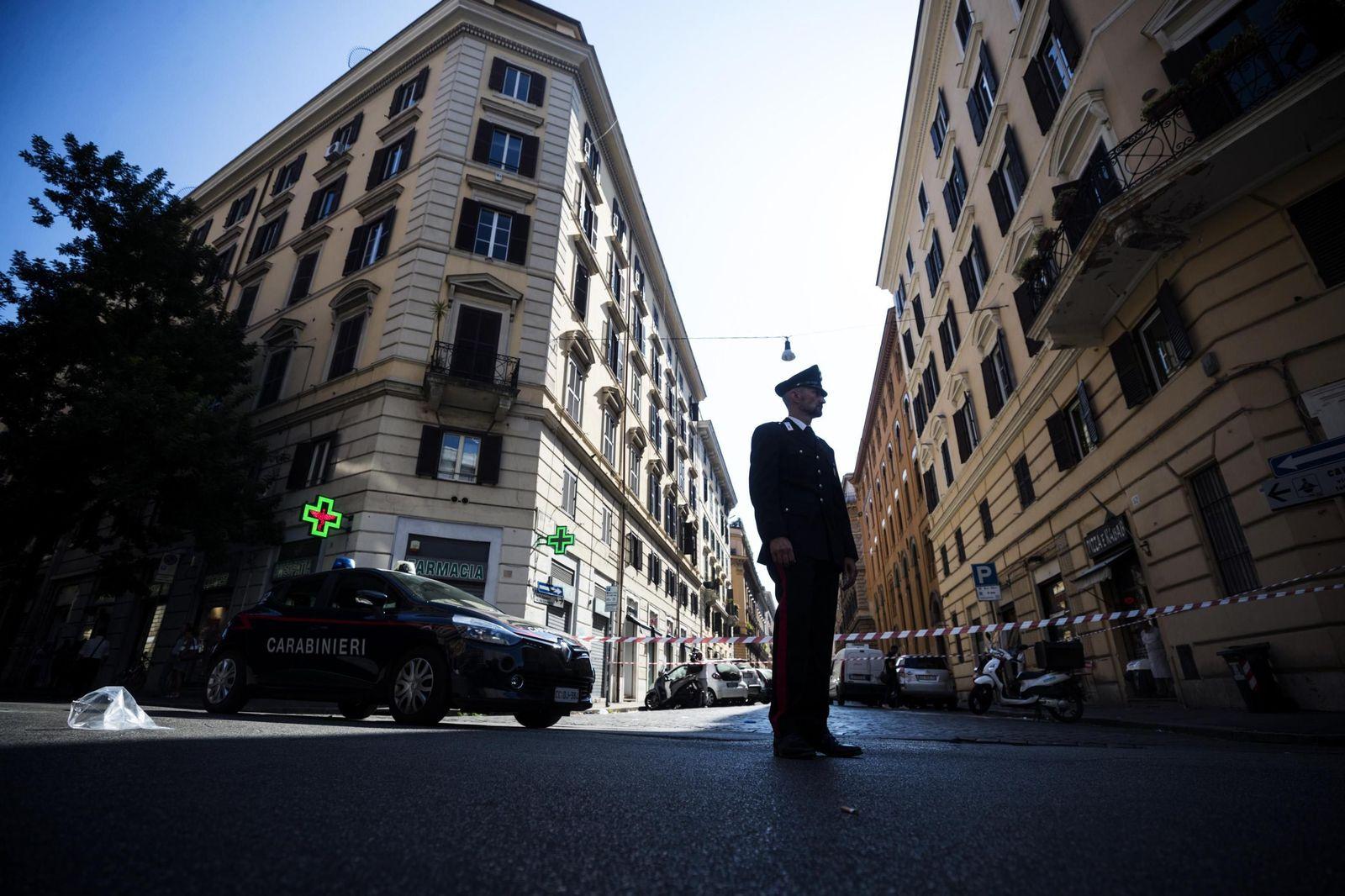 Tötung eines Polizisten erschüttert Italien
