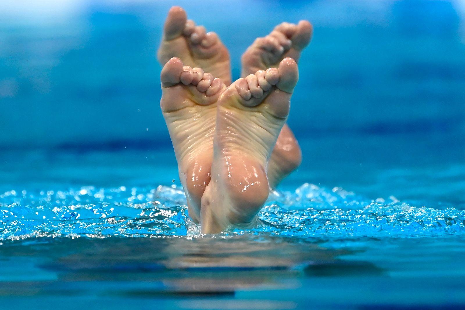 APTOPIX Hungary European Swimming Championships