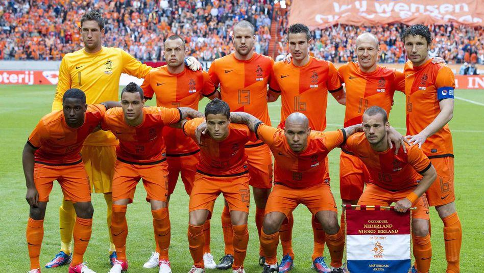 Team der Niederlande: Mit Affenlauten beim Aufwärmen beleidigt