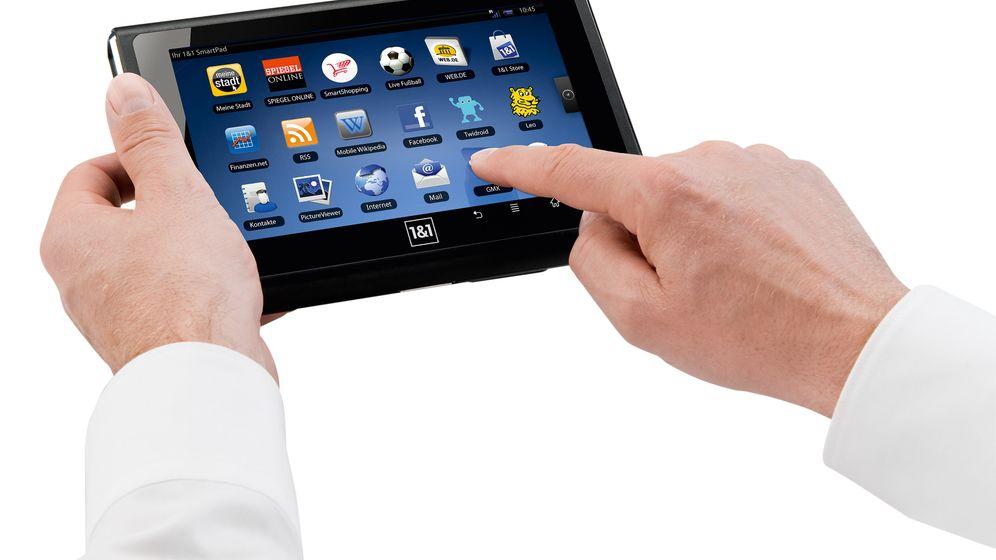 Billig-Konkurrenz für das iPad: Das 1&1 Smartpad