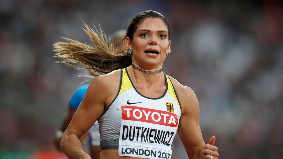 Pamela Dutkiewicz-Emmerich gewann bei der Leichtathletik-WM in London 2017 die Bronze-Medaille